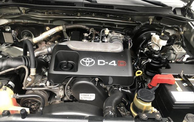 Gia Hưng Auto bán xe Toyota Fortuner 2.5G máy dầu, màu bạc SX 20095