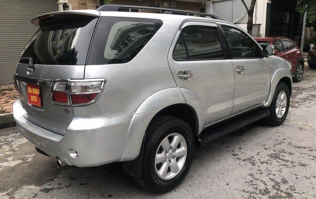Gia Hưng Auto bán xe Toyota Fortuner 2.5G máy dầu, màu bạc SX 20096