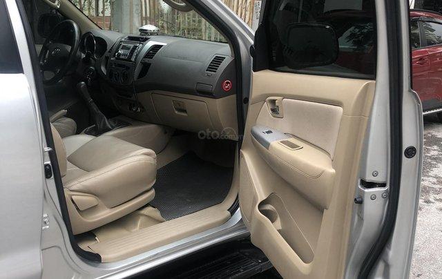 Gia Hưng Auto bán xe Toyota Fortuner 2.5G máy dầu, màu bạc SX 20097