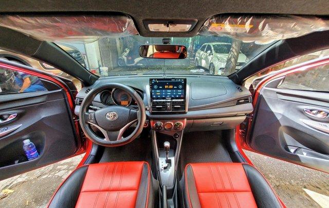 Bán xe Yaris 1.5 màu đỏ SX 20174