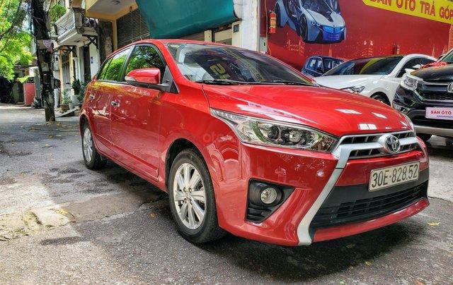 Bán xe Yaris 1.5 màu đỏ SX 20177