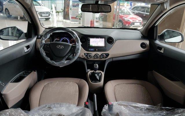 [Siêu ưu đãi] Hyundai Grand i10 sedan 1.2 MT 2020, giảm 50% lệ phí trước bạ, hỗ trợ trả góp 90%, hỗ trợ uber và grab10