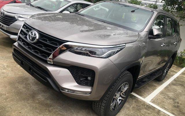 Bán Toyota Fortuner 2.4 số tự động - máy dầu, khuyến mãi lớn, giảm tiền, tặng phụ kiện0