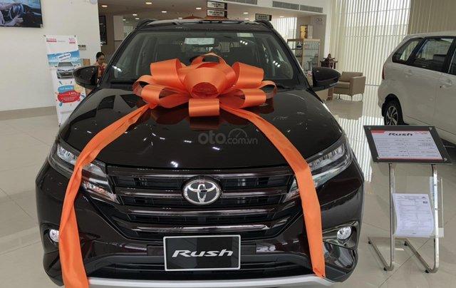 Bán Toyota Rush 1.5 màu đen giao ngay _ khuyến mãi giảm giá tiền mặt _ tặng thêm phụ kiện0