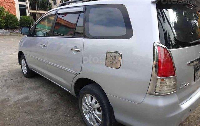Cần bán xe Toyota Innova 2.0 G sản xuất năm 2008, màu bạc  1