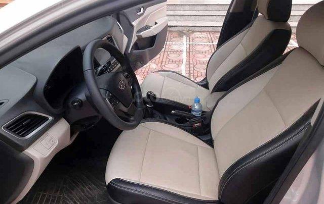 Bán ô tô Hyundai Accent 1.4 MT sản xuất năm 2019, màu bạc 4