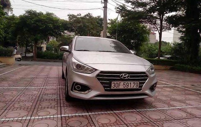 Bán ô tô Hyundai Accent 1.4 MT sản xuất năm 2019, màu bạc 0