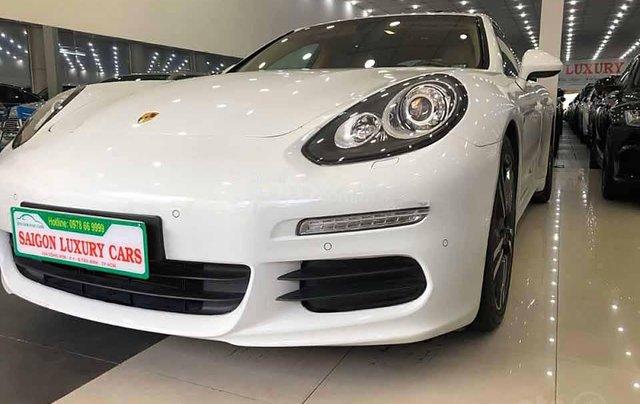 Xe Porsche Panamera 4S đời 2015, màu trắng, nhập khẩu nguyên chiếc  0