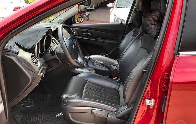 Bán ô tô Chevrolet Cruze LT 1.6L 2018, màu đỏ còn mới, giá chỉ 386 triệu1