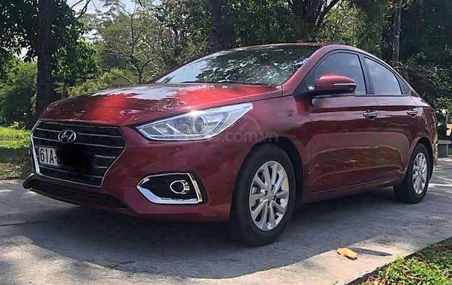 Cần bán xe Hyundai Accent đời 2018, màu đỏ còn mới2