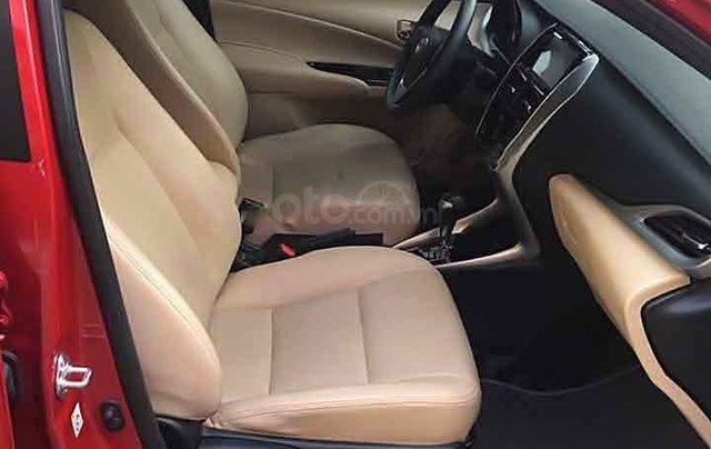 Cần bán Toyota Yaris 1.5 G đời 2019, màu đỏ, nhập khẩu  4