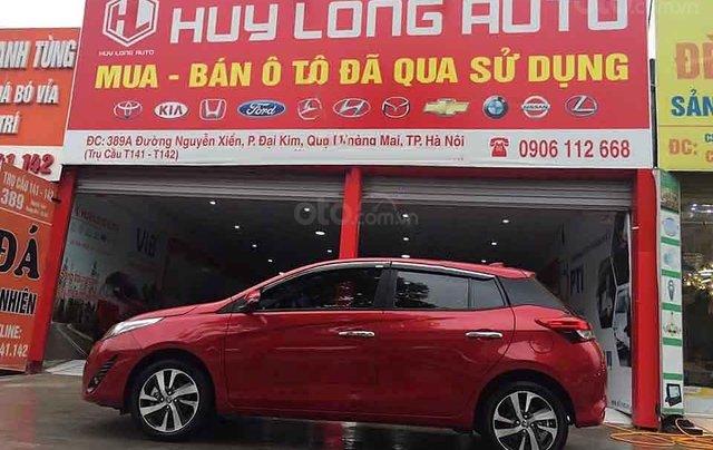 Cần bán Toyota Yaris 1.5 G đời 2019, màu đỏ, nhập khẩu  1