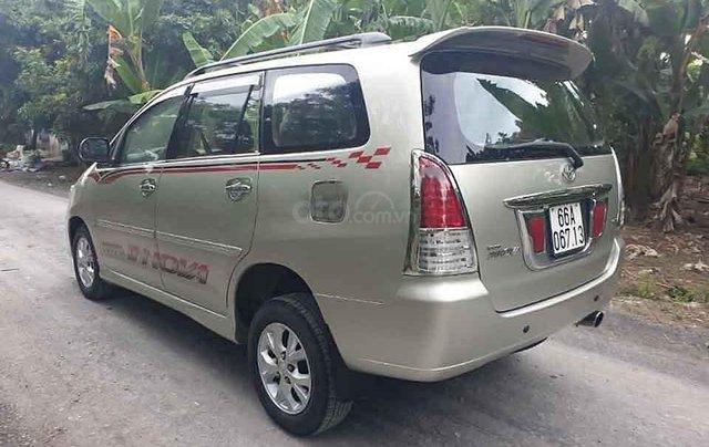 Bán xe Toyota Innova 2.0 G đời 2006, màu bạc còn mới3