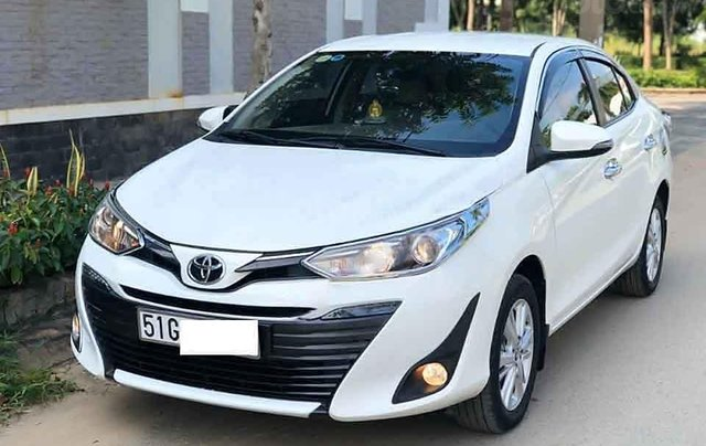 Cần bán lại xe Toyota Vios G 2019, màu trắng, nhập khẩu còn mới 0