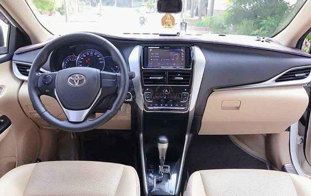 Cần bán lại xe Toyota Vios G 2019, màu trắng, nhập khẩu còn mới 1