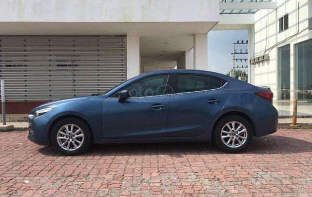 Chính chủ bán Mazda 3 sedan 1.5L, màu xanh, nội thất đen, xe sản xuất 10/2018, bảo hành bảo dưỡng toàn bộ tại hãng1