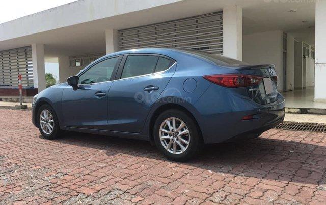 Chính chủ bán Mazda 3 sedan 1.5L, màu xanh, nội thất đen, xe sản xuất 10/2018, bảo hành bảo dưỡng toàn bộ tại hãng2