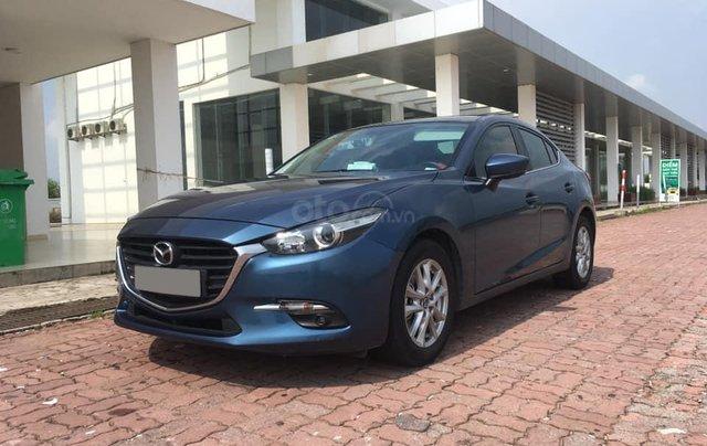 Chính chủ bán Mazda 3 sedan 1.5L, màu xanh, nội thất đen, xe sản xuất 10/2018, bảo hành bảo dưỡng toàn bộ tại hãng5