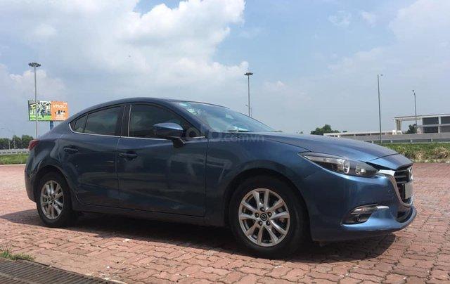 Chính chủ bán Mazda 3 sedan 1.5L, màu xanh, nội thất đen, xe sản xuất 10/2018, bảo hành bảo dưỡng toàn bộ tại hãng4