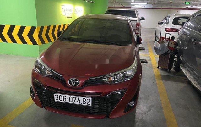 Bán Toyota Yaris đời 2019, màu đỏ, nhập khẩu nguyên chiếc, giá 650tr1