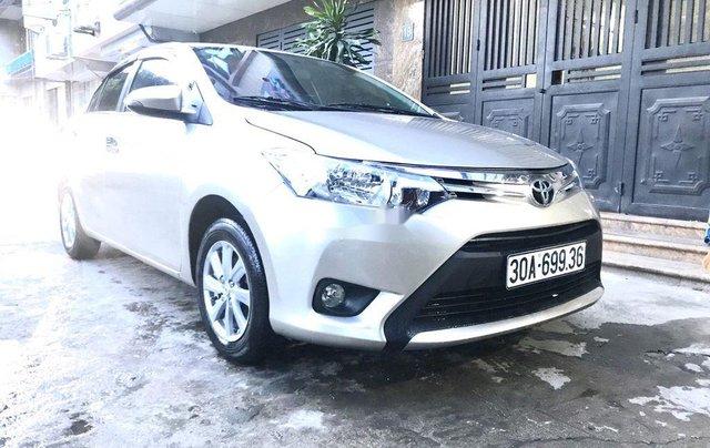 Bán Toyota Vios sản xuất năm 2016, màu bạc, nhập khẩu nguyên chiếc  0