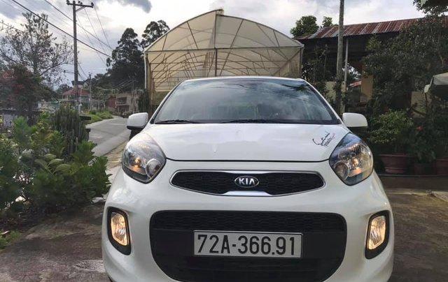 Xe Kia Morning sản xuất năm 2019, màu trắng còn mới2