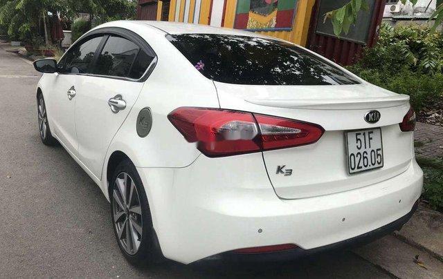 Bán Kia K3 đời 2014, màu trắng, nhập khẩu, có cam lùi, cửa sổ trời1