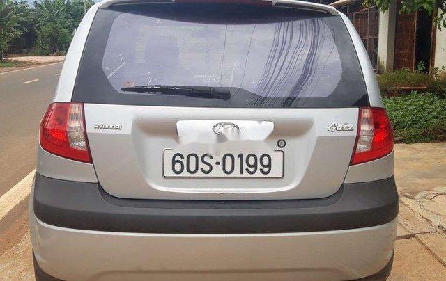 Bán ô tô Hyundai Getz đời 2009, màu bạc, nhập khẩu Hàn Quốc  8