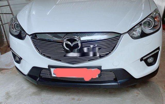 Bán xe Mazda CX 5 năm sản xuất 2015, màu trắng xe gia đình giá cạnh tranh0