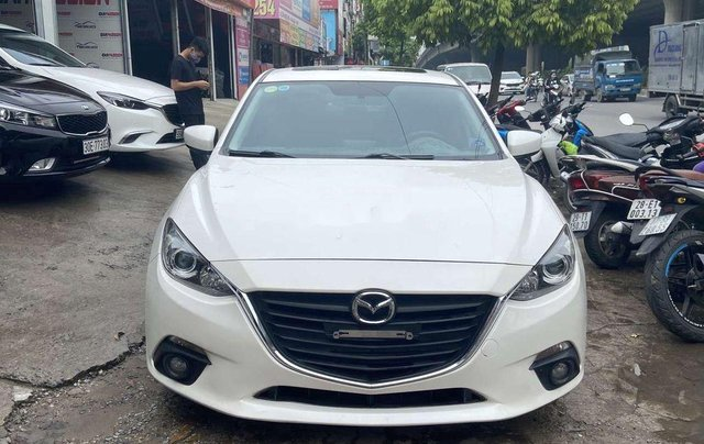 Cần bán Mazda 3 2015, màu trắng1