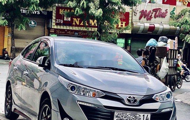 Bán xe Toyota Vios sản xuất năm 2019, màu xám