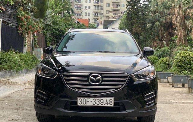 Bán Mazda CX 5 năm sản xuất 2017, màu đen còn mới 0