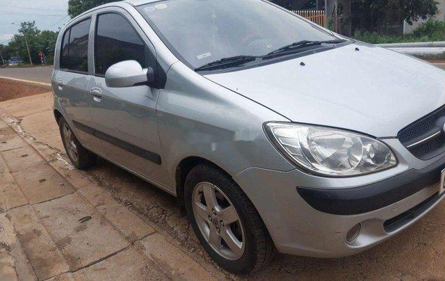 Bán ô tô Hyundai Getz đời 2009, màu bạc, nhập khẩu Hàn Quốc  1