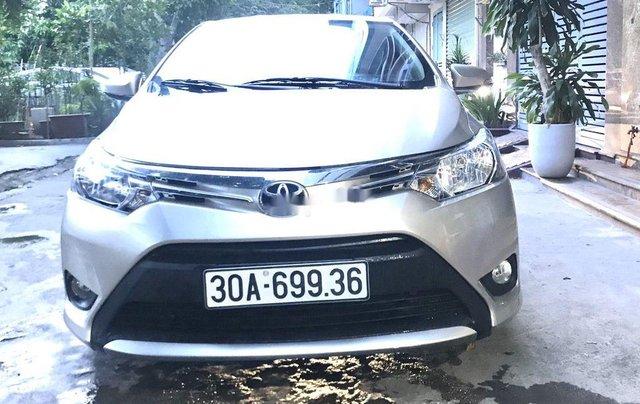 Bán Toyota Vios sản xuất năm 2016, màu bạc, nhập khẩu nguyên chiếc  4