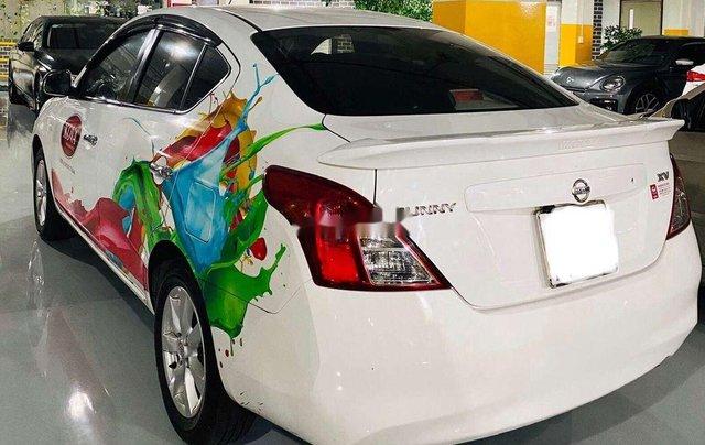 Cần bán lại xe Nissan Sunny 2015, màu trắng2