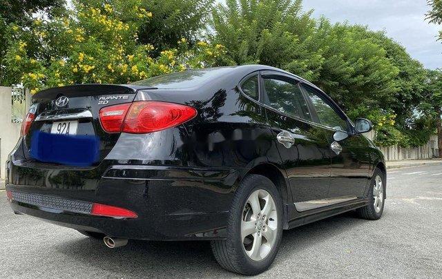 Bán Hyundai Avante đời 2012, màu đen xe gia đình8