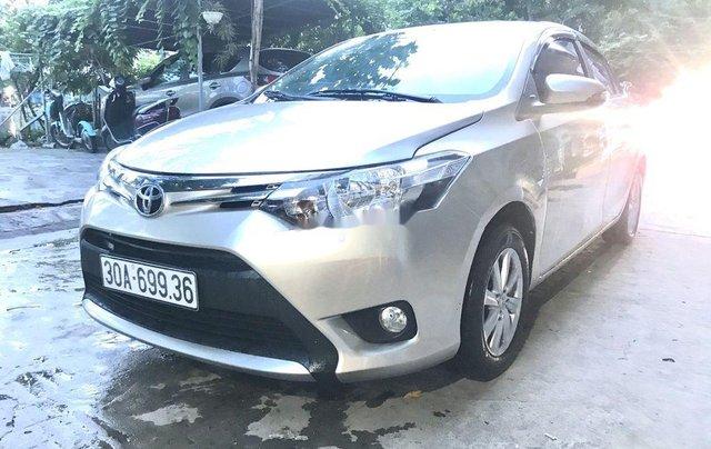 Bán Toyota Vios sản xuất năm 2016, màu bạc, nhập khẩu nguyên chiếc  5