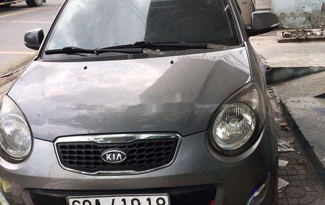 Cần bán gấp Kia Morning sản xuất năm 2012, màu xám  0