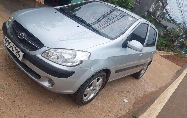 Bán ô tô Hyundai Getz đời 2009, màu bạc, nhập khẩu Hàn Quốc  2