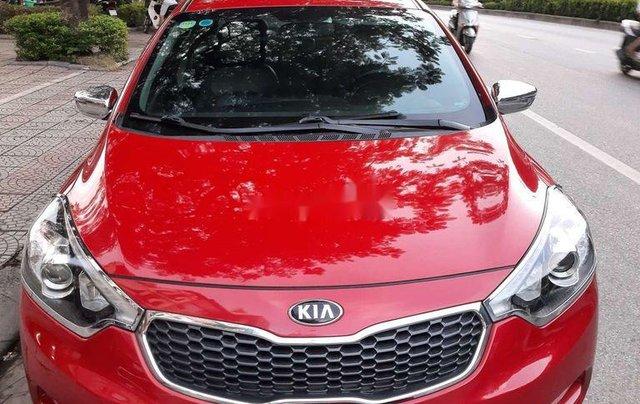 Xe Kia K3 năm sản xuất 2015, màu đỏ còn mới0