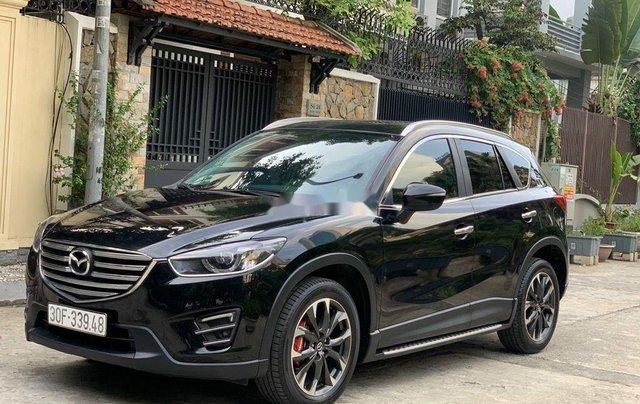 Bán Mazda CX 5 năm sản xuất 2017, màu đen còn mới 2