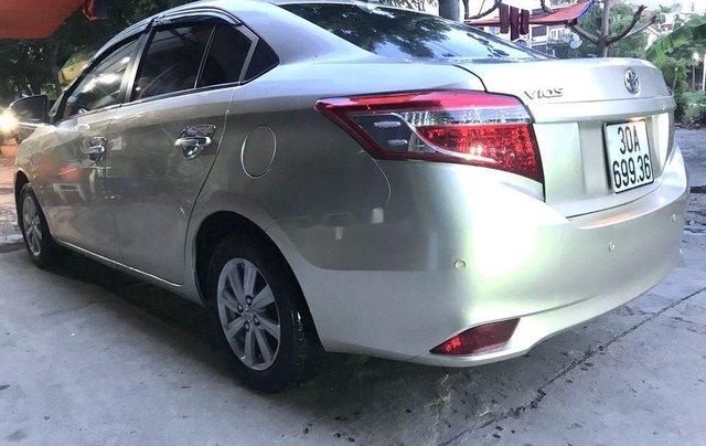 Bán Toyota Vios sản xuất năm 2016, màu bạc, nhập khẩu nguyên chiếc  3