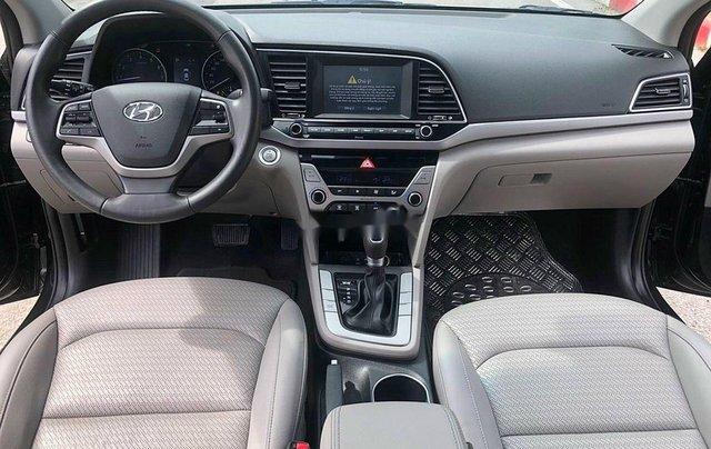 Bán Hyundai Elantra 1.6 AT sản xuất 2017, màu đen, 535tr6