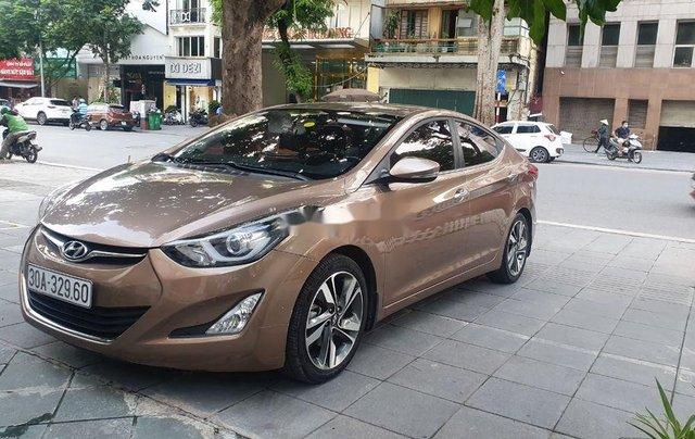 Bán Hyundai Elantra đời 2014, màu nâu, xe nhập còn mới4