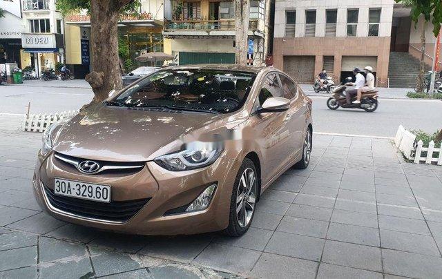 Bán Hyundai Elantra đời 2014, màu nâu, xe nhập còn mới0