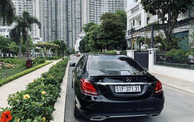 Mercedes C200 sx 2015, đk 2016, màu đen, nội thất kem3