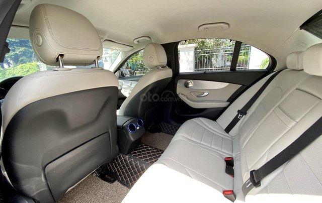 Mercedes C200 sx 2015, đk 2016, màu đen, nội thất kem8