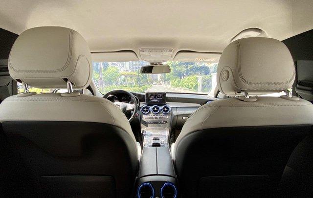 Mercedes C200 sx 2015, đk 2016, màu đen, nội thất kem9