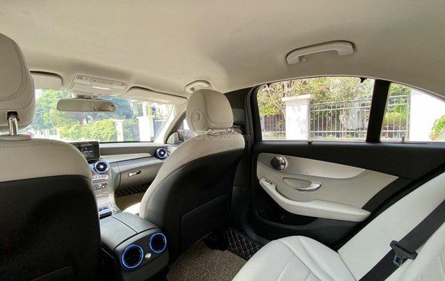 Mercedes C200 sx 2015, đk 2016, màu đen, nội thất kem11