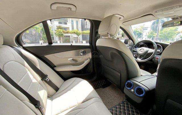 Mercedes C200 sx 2015, đk 2016, màu đen, nội thất kem13